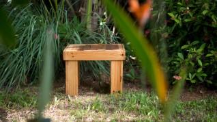 Table BRET - Table basse en palette - Guyane