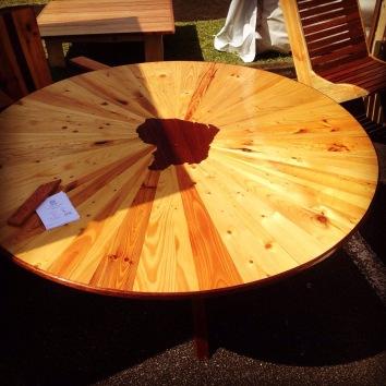 Table Yana - Bois de palettes et bois de Guyane - TAKARI