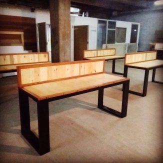 Bureaux - Bois de palettes et bois de Guyane - TAKARI