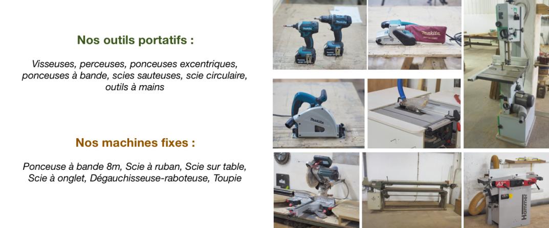 Les outils de La Fabrique du Dégrad
